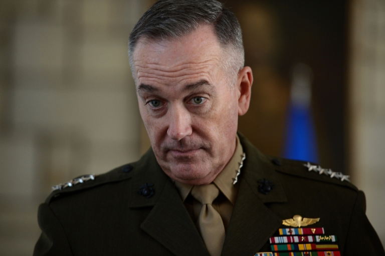 <p>Gen. Joseph Dunford, commander of the International Security Assistance Force in Afghanistan, said April 16, 2013, that US troops should remain in Afghanistan after 2014.</p>