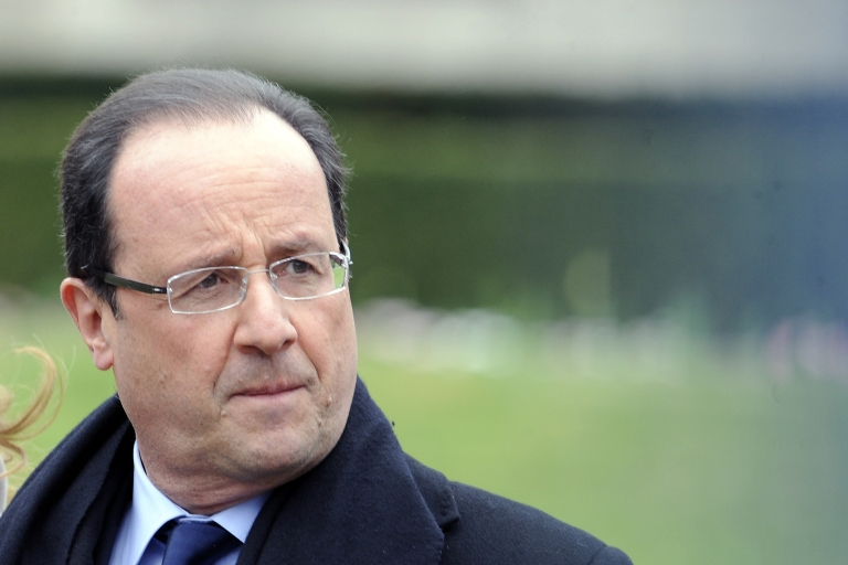 <p>Fears are rising that Hollande's failure to reverse France's economic slide could bring down the single currency.</p>