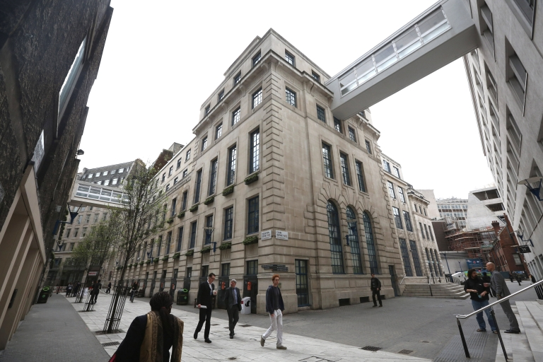 <p>A general view of the London School of Economics, April 15, 2013.</p>