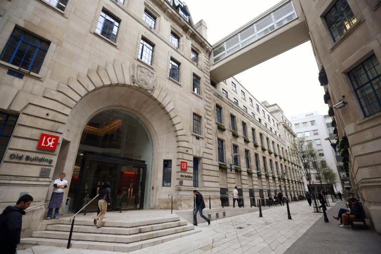 <p>A general view of the London School of Economics, April 15, 2013.</p>