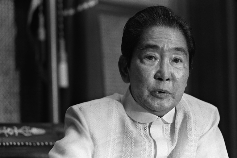 <p>President Ferdinand Marcos was dictator of the Philippines from 1965 to 1986.</p>
