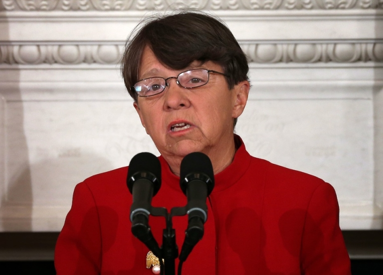 <p>Former federal prosecutor Mary Jo White was confirmed by the Senate Monday to be the new head of the Securities and Exchange Commission.</p>