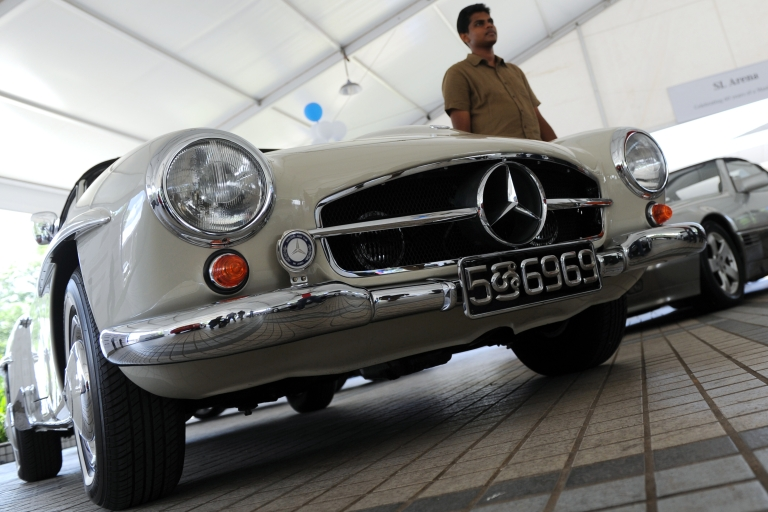 <p>Should the Mercedes-Benz parent company pay for its role in disappearances?</p>