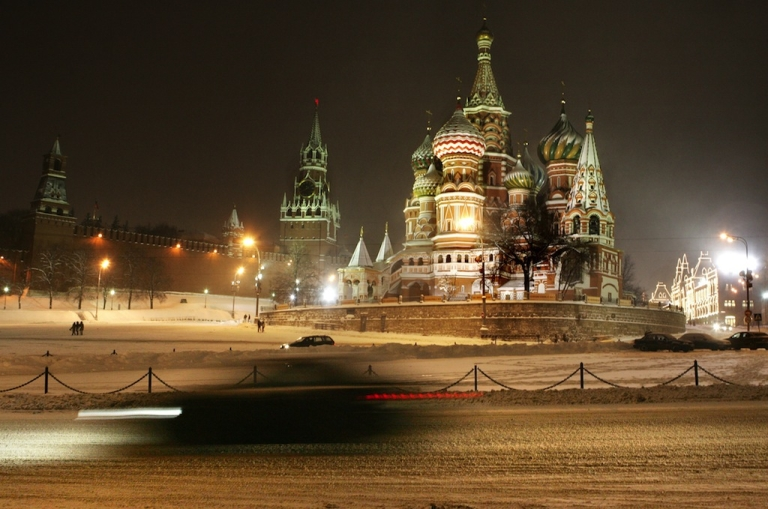 <p>Downtown Moscow was shaken up by an 8.3 magnitude earthquake May 24 — that happened over 4,400 miles away in the Sea of Okhotsk.</p>