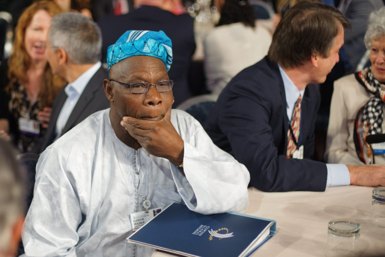 <p>Olusegun Obasanjo, UN special envoy for Africa and former President of Nigeria had warnings in the midst of bright speculation on Africa's future.</p>