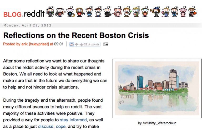 <p>Redditors posted a public apology to the family of missing Brown University student Sunil Trapathi after many users falsely identified him as a suspect in the Boston Marathon bombing.</p>