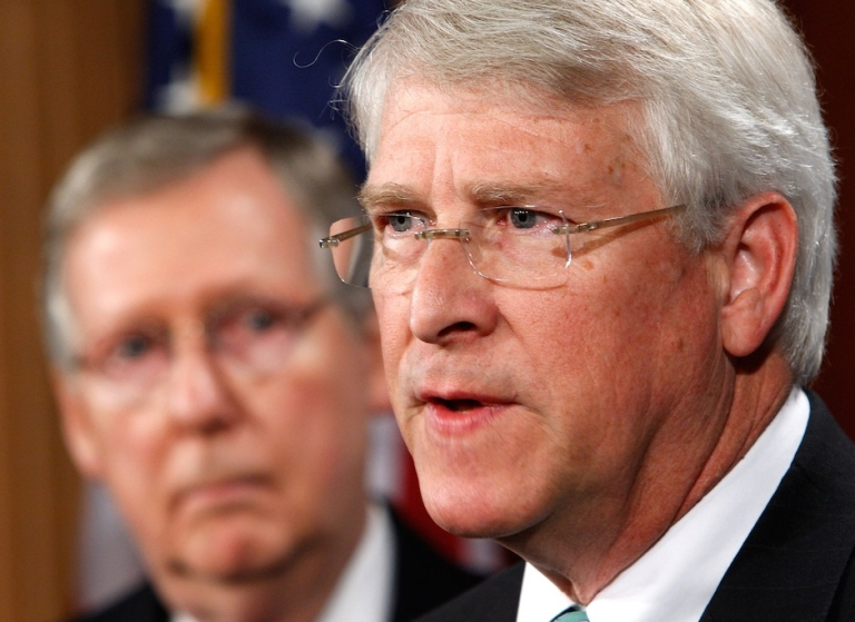 <p>An envelope addressed to Mississippi Sen. Roger Wicker contained a
