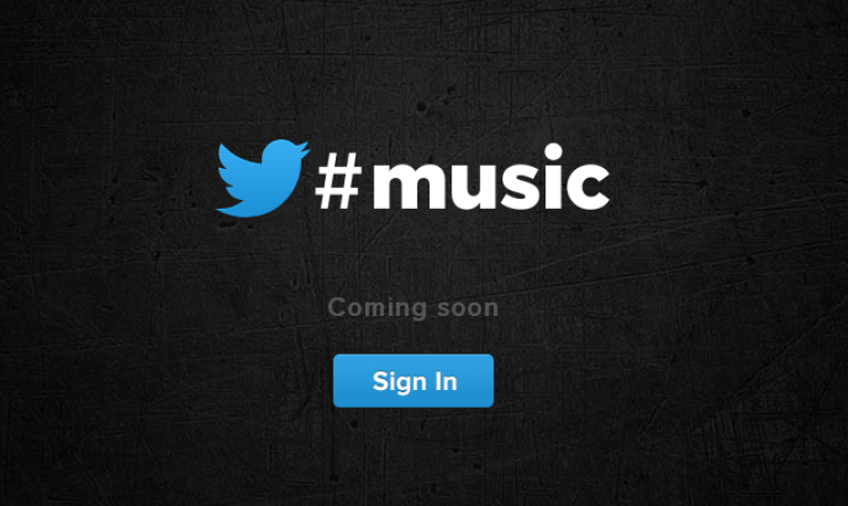 <p>Twitter Music: Coming soon to Twitter users across the globe.</p>