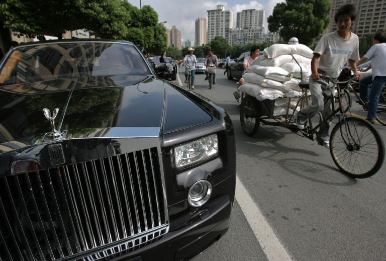 <p>China growing nouveau riche class delights in exotic (or peculiar) vices.</p>