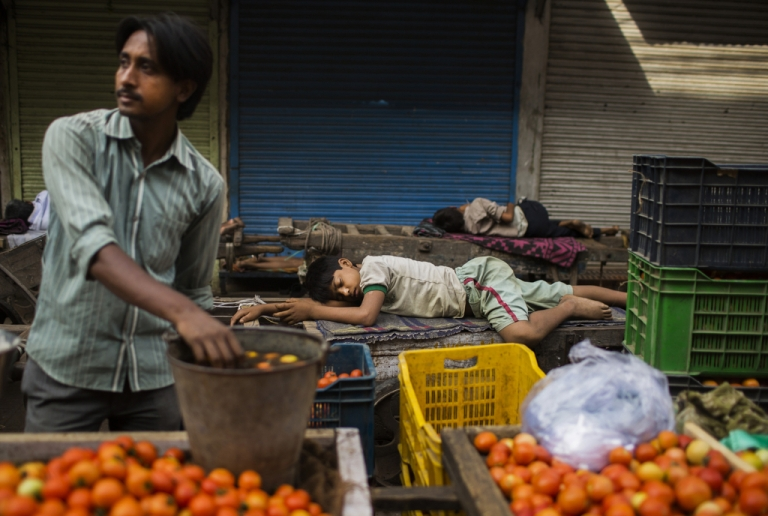 <p>India's economic slowdown might be the result of a lack of foreign investment.</p>