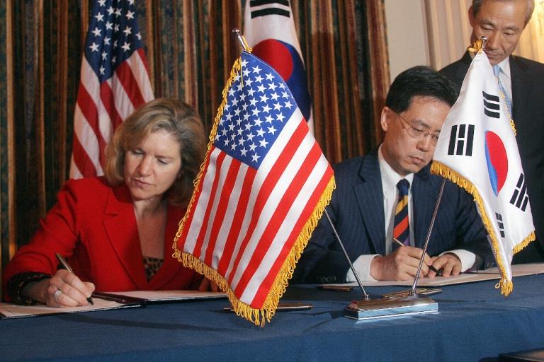 <p>Despite Obama's claims, critics say the Korea-US free trade agreement has stolen American jobs.</p>