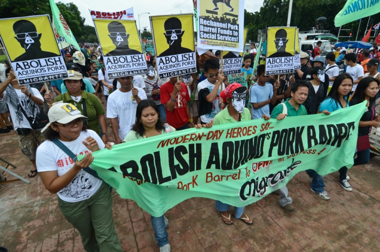 """<p>Alleged government corruption has Filipinos furious. These """"Pork Barrel Protests,"""