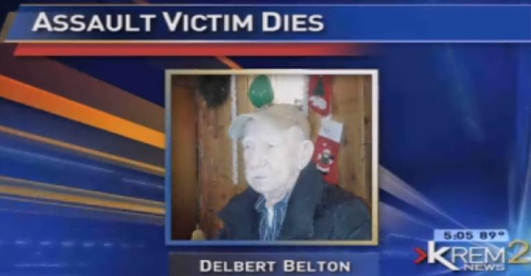 <p>A World War II veteran was beaten to death in a parking lot in Spokane, Wash. on Wednesday night.</p>