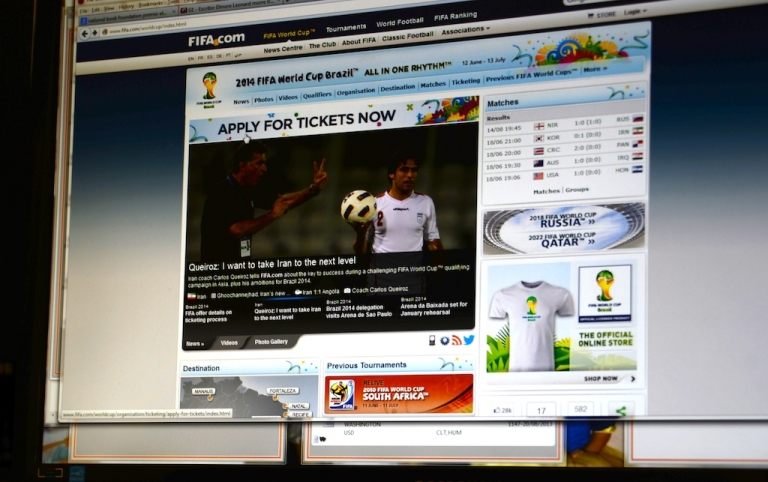 <p>In case you didn't know, World Cup tickets are on sale.</p>