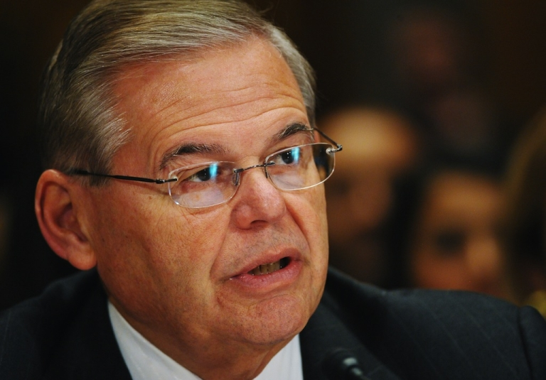 <p>Democratic Senator Robert Menendez, chairman of the Senate Foreign Relations Committee, has led calls for further sanctions on Iran despite a recent nuclear deal.</p>
