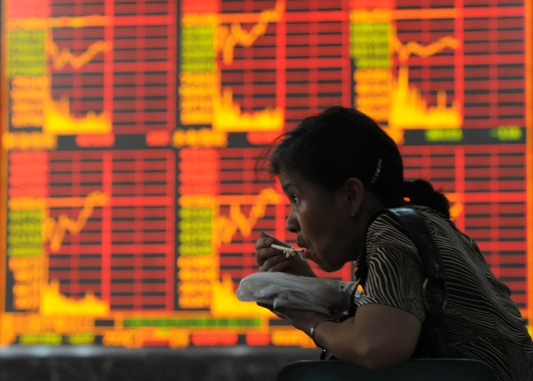 <p>Many Chinese firms choose to list shares in the West, instead of limiting themselves to domestic markets (pictured).  New York-based research firm Muddy Waters has brought down a handful of them with fraud accusations, making a profit along the way.</p>