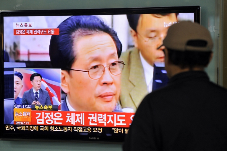 <p>Jang Song-Thaek, North Korean leader Kim Jong-Un's uncle, has reportedly been removed from power.</p>