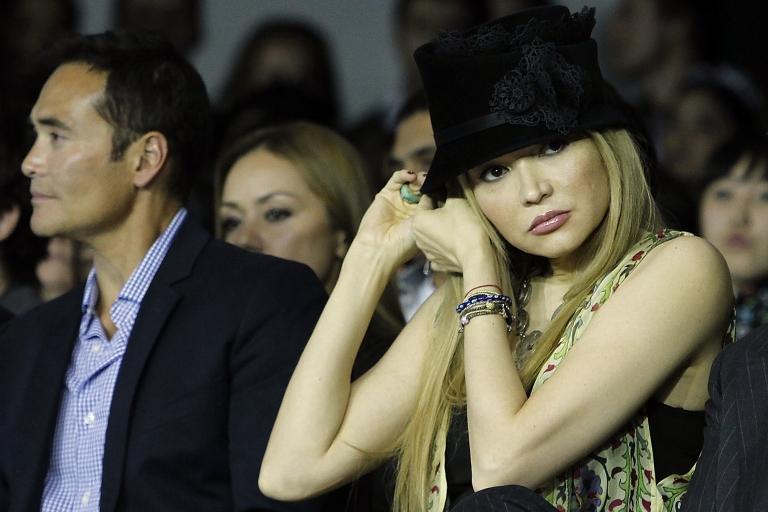 <p>Out of favor? Karimova in Tashkent in 2012.</p>
