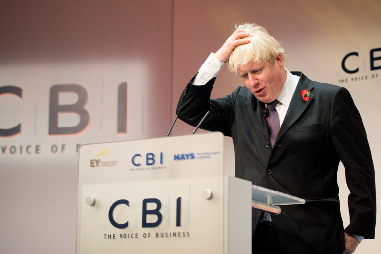 <p>London Mayor Boris Johnson is in a spot of trouble over his IQ remarks.</p>