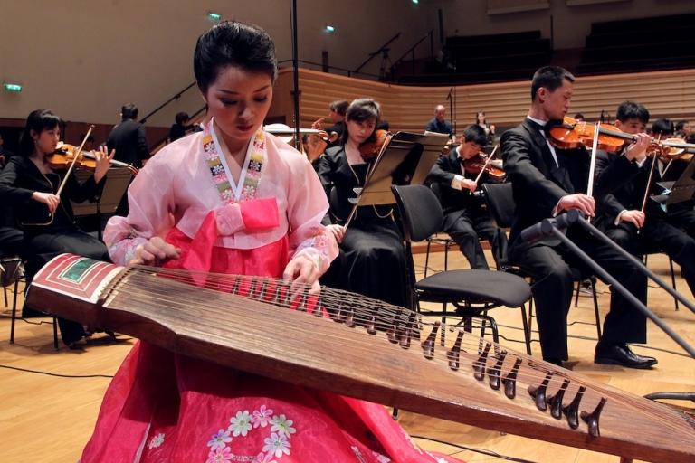 <p>Apparent purge victim: the Unhasu orchestra.</p>