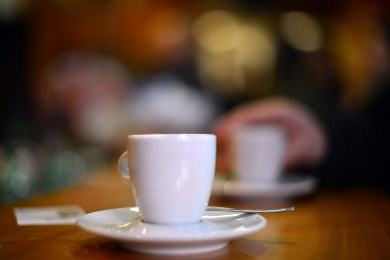 <p>A coffee cup in Rome, Jan. 29, 2013.</p>