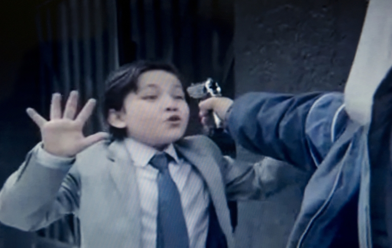 <p>Grab from a TV spot released by the civil organization