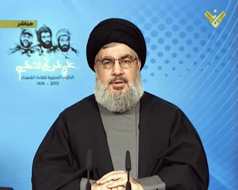 <p>Hezbollah's Hassan Nasrallah made a television appearance Wednesday to deny reports that he was suffering from cancer.</p>