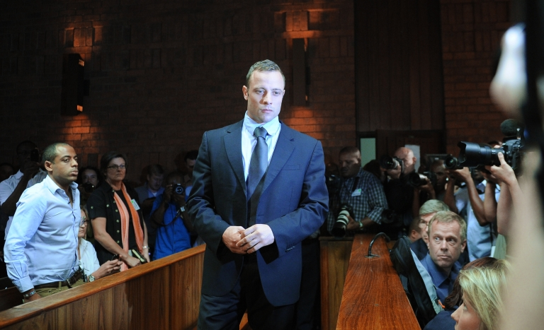 <p>Oscar Pistorious' reputation management company said that the paralympian will have a private memorial service for his slain girlfriend Tuesday night.</p>