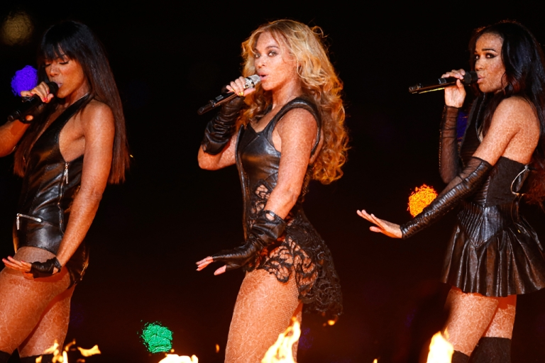 <p>Singer Beyonce performs during the Pepsi Super Bowl XLVII Halftime Show at the Mercedes-Benz Superdome on Feb. 3, 2013, in New Orleans, La.</p>