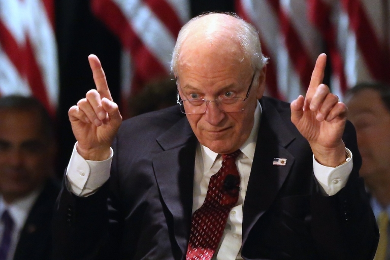<p>Former Vice President Dick Cheney speaks at the Long Island Association fall luncheon at the Crest Hollow Country Club on October 18, 2012 in Woodbury, New York.</p>