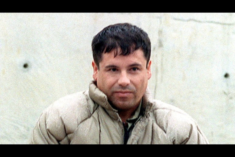 <p>This 10 July, 1993, file photo shows drug trafficker Joaquin Guzman Loera 'El Chapo Guzman' at the Almoloya de Juarez, Mexico, maximum security prison. Mexican authorities announced that Guzman escaped 20 January, 2001, the Puente Grande, Jalisco, maximum security prison.</p>