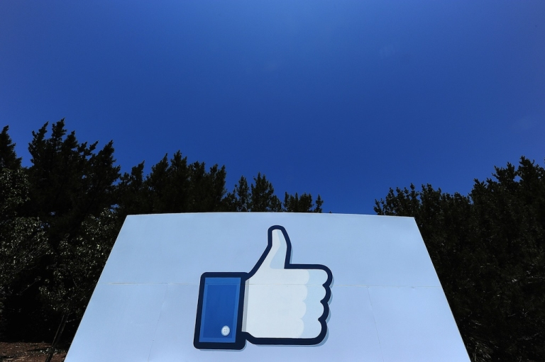 <p>A thumbs up or 'Like' icon at the Facebook main campus in Menlo Park, California, May 15, 2012. Facebook announced on February 16th that it had been hit by a hacking attack, although no user data appears to have been compromised.</p>