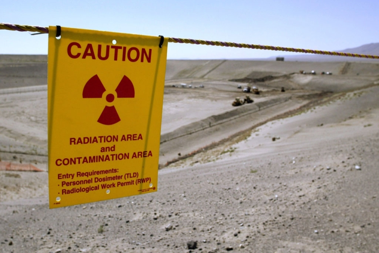 <p>The Environmental Restoration Disposal Facility is seen at the Hanford Nuclear Reservation on June 30, 2005, near Richland, Washington. A tank that holds radioactive liquids is leaking at the site, Washington Gov. Jay Inslee said on Feb. 15, 2013.</p>