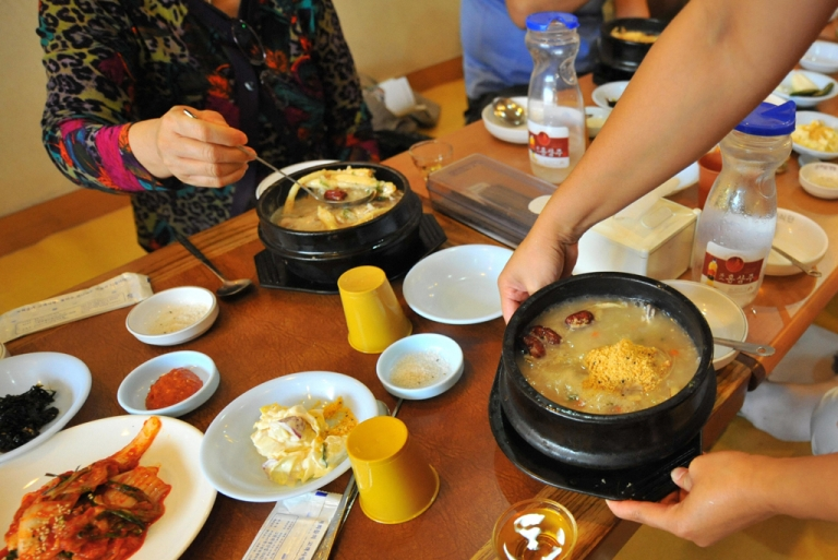 <p>South Korean restaurant.</p>