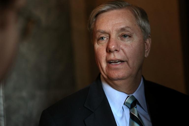 <p>Republican Senator Lindsey Graham said US drone strikes were a necessary tactical weapon.</p>