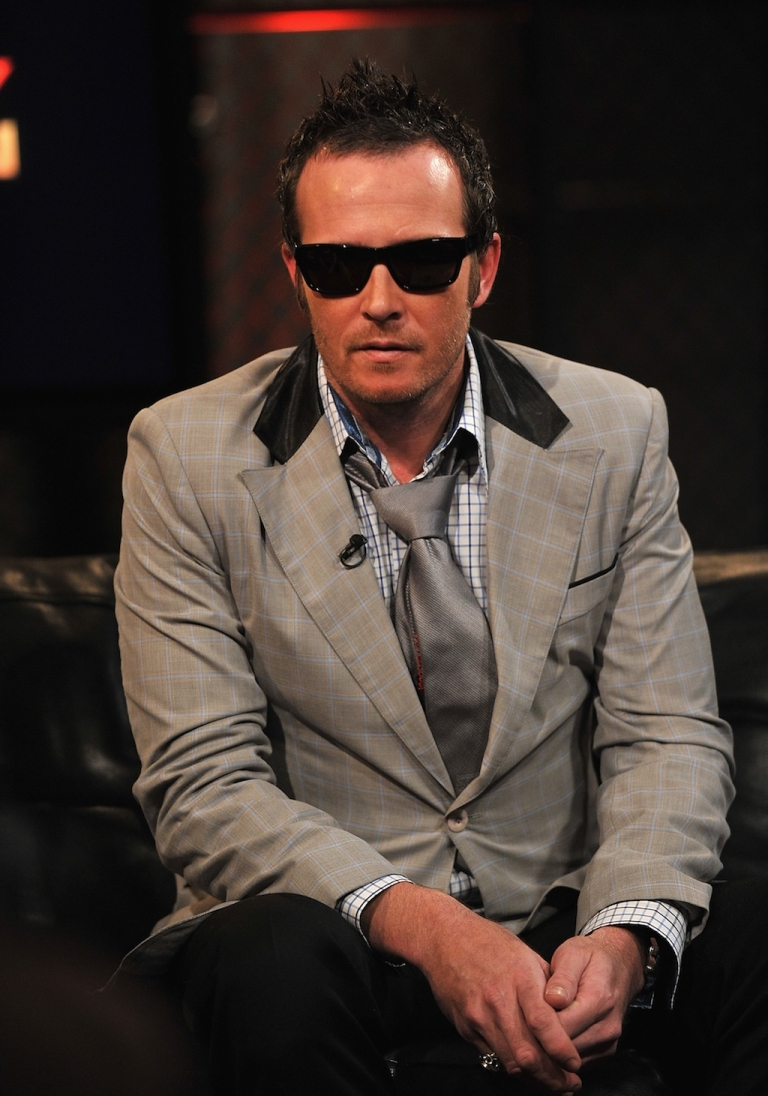 <p>Musician Scott Weiland of Stone Temple Pilots visits fuse Studios on May 20, 2010 in New York City.</p>
