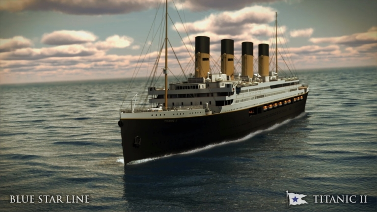 <p>The Titanic II will be a replica of the original ship with some modern additions.</p>