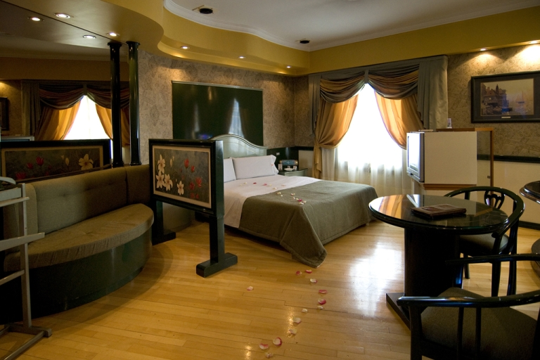 <p>Torres del Lago is an Argentine love hotel, or