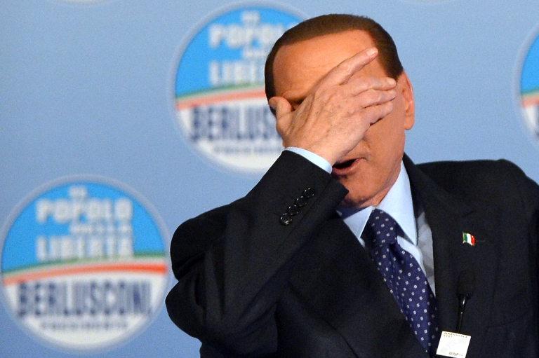 <p>Former Italian Prime Minister Silvio Berlusconi was condemned Sunday for remarks he made at a Holocaust commemoration in which he defended the record of Benito Mussolini.</p>