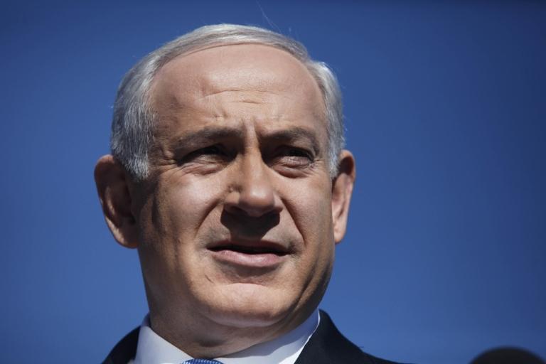 <p>Israeli Prime Minister Benjamin Netanyahu speaks to the press on Jan. 21, 2013 in Jerusalem.</p>