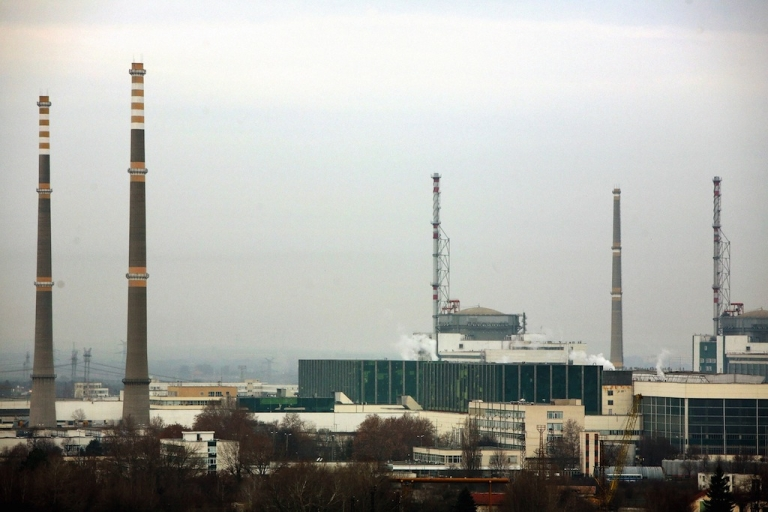 <p>This file picture taken on December 18, 2006 shows a general view of Bulgaria's nuclear power plant near the town of Kozloduy, 200 kms north of Sofia.</p>