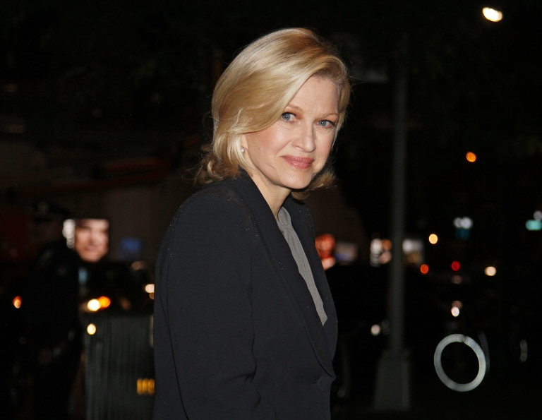 <p>Diane Sawyer attending a memorial service for Marvin Hamlisch at the Peter Jay Sharp Theater in New York City on Sept. 18, 2012.</p>
