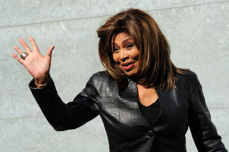 <p>Tina Turner attends the Emporio Armani Fall-Winter 2011-2012 ready-to-wear collection on February 26, 2011 during the Women's fashion week in Milan. Turner is set to become a Swiss citizen in 2013.</p>