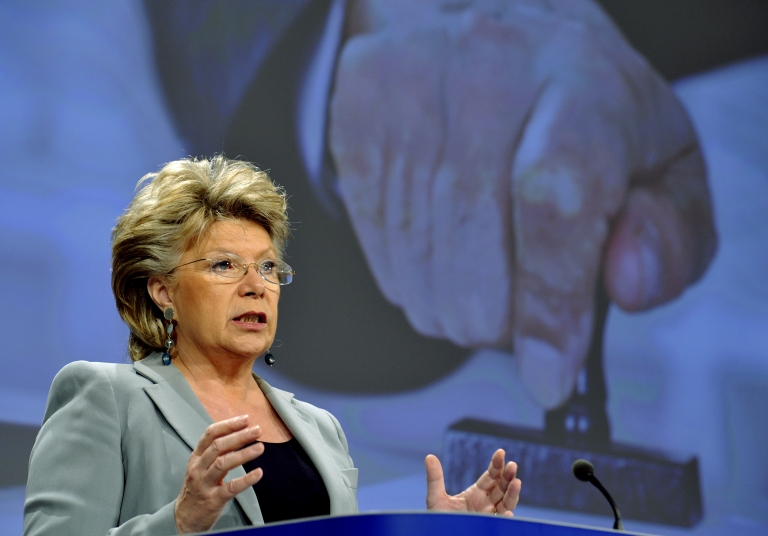 <p>Viviane Reding, the vice-president of the European Commission who is in charge of justice raised concerns about US internet spying with US attorney general, Eric Holder, at a meeting in Washington in April. She says she will be more forceful at a meeting in Dublin next week.</p>