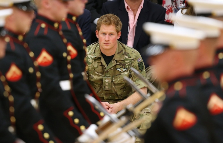 <p>Prince Harry attends the Opening Ceremony of the Warrior Games during the third day of his visit to the United States on May 11, 2013 in Colorado Springs, Colorado.</p>
