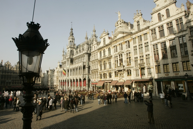 <p>La Grande Place is only part of a city of divided populations.</p>