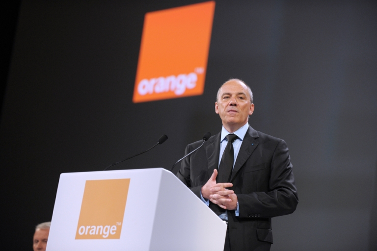 <p>The chairman and chief executive officer of French telecommunications operator France Telecom-Orange, Stephane Richard.</p>