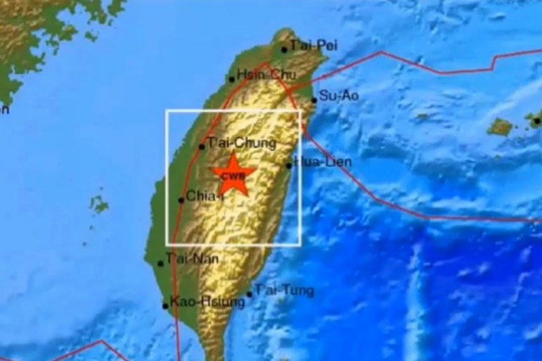 <p>A 6.5-magnitude earthquake has hit Taiwan, shaking buildings in the capital Taipei and killing one person.</p>