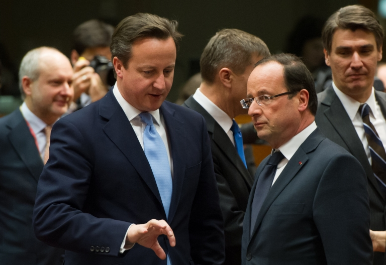 <p>Both Britain and France said they would use Saturday's EU summit to push for arming Syrian rebels. The EU currently has an arms embargo on sending weapons to Syria.</p>