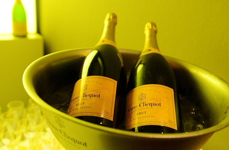 <p>The British inflation basket of good has taken out champagne in bars - likely a sign of austere times.</p>